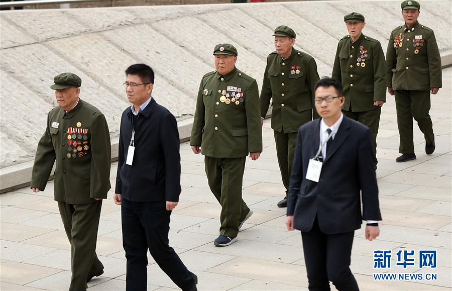 (社會)(3)第六批在韓中國人民志愿軍烈士遺骸在沈陽安葬