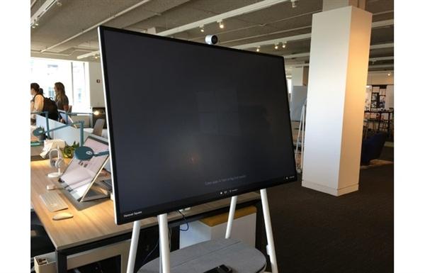 微軟Surface Hub 2S發布:50寸和85寸、可移動辦公的電子黑板