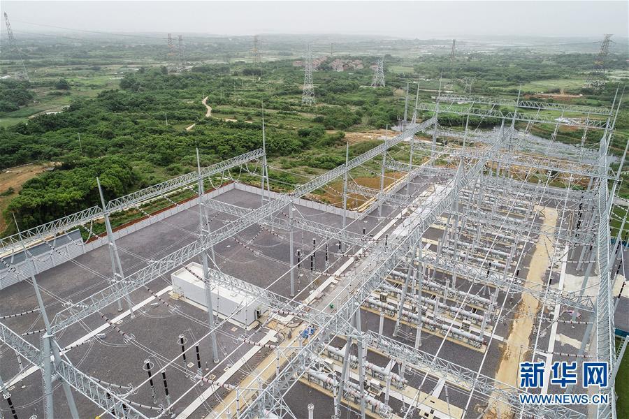 (经济)(1)凤凰山变电站扩建工程即将完工