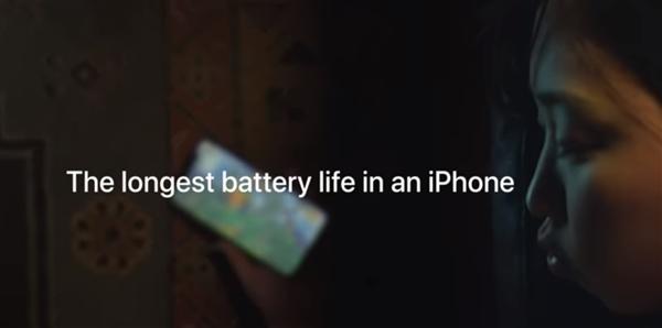 苹果投放新广告:iPhone XR续航史上最强