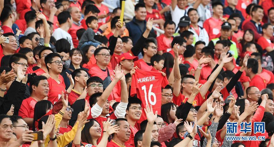 (体育)(40)足球——中超:广州恒大夺得第八冠
