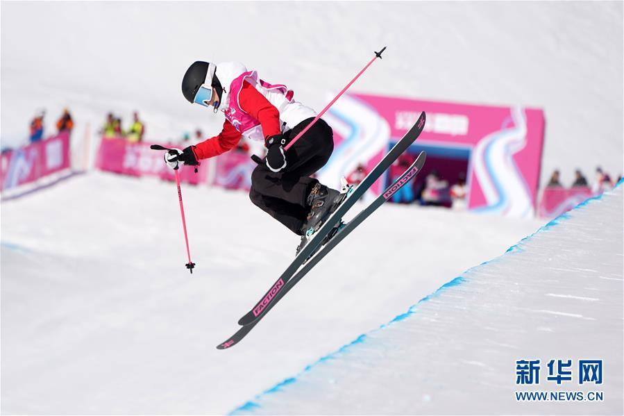 (体育)(8)自由式滑雪——女子U型场地决赛:中国选手谷爱凌夺冠