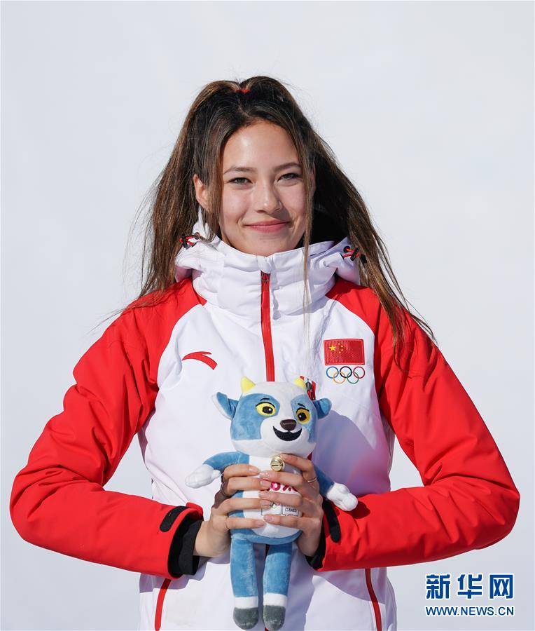 (体育)(5)自由式滑雪——女子U型场地决赛:中国选手谷爱凌夺冠