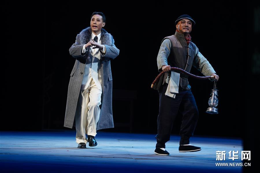 (文化)(4)原创现代昆剧《梅兰芳·当年梅郎》在南京上演